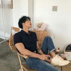 Cute Asian Guys, Asian Boys, Asian Men, Cute Guys, Korean Boys Hot, Korean Men, Ulzzang Fashion, Boy Fashion, Mens Fashion