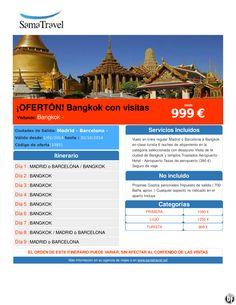 ¡OFERTÓN! Bangkok con visitas desde 999 € ultimo minuto - http://zocotours.com/oferton-bangkok-con-visitas-desde-999-e-ultimo-minuto-5/