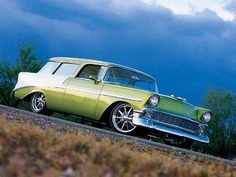 1956 Chevrolet Nomad  pin more cool pics http://extreme-modified.com/category/extreme-world-best/