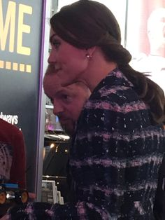 """Rebecca English on Twitter: """"The Duchess of Cambridge chats to sports students @FootballMuseum"""