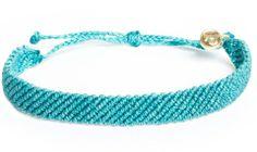 Pura Vida Bracelets from Costa Rica - braided Bracelets New Flat Braid Style