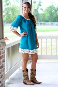 Cute Women's Clothing Boutiques Girly Dresses Cowgirl Boots