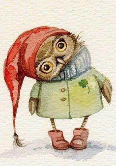 Cute Owl ~
