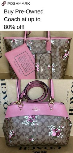Poshmark is the place to buy and sell fashion. Shop millions of closets - and sell yours too! Coach Handbags, Coach Purses, Tote Handbags, Purses And Handbags, Coach Bags, Tote Bags, Best Purses, Shops, Purse Wallet