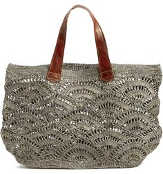 Main image mar y sol tulum tote Crochet Tote, Love Crochet, Knit Crochet, Tulum, Nordstrom Bags, Shop Nordstrom, Main Image, Earthy Style, Fabric Yarn