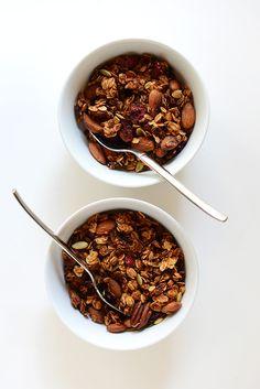 Sweet Potato Granola, sub agave for vegan Sweet Potato Breakfast, Fall Breakfast, Breakfast Recipes, Power Breakfast, Brunch, Baker Recipes, Cooking Recipes, Vegan Recipes, Sans Gluten