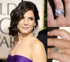 Check out teh Diamond Ring on her finger - Kruckemeyer and Cohn - Call: 812 - 476 - 5122 - http:kandcjewelers.com