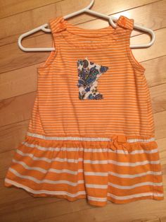 b6078bbc1 Minnesota Baby Girl Dress~ Size 6-12 Months ~ Upcycled ~ Perfect Gift for