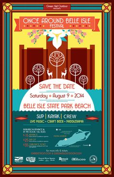 OABI Detroit is a Paddlefest celebrating the great city of Detroit.  For just $15.00 you can join us for SUP, Kayak and Rowing demos, sprint races, contests, Craft Beer, Live Music and Food Trucks.  Aug. 9, 2014 12-8:00 pm  visit oabidetroit.com for tickets
