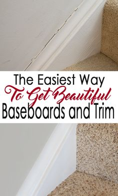 Crisp baseboards and molding make a wall paint shine. Repairing and caulking baseboards doesn't have to be scary with these pro tips!