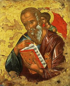 St. John the Evangelist and Wisdom Icon (15th Century) Thanks for posting…