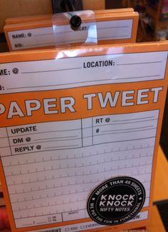 Paper Tweet - LOL