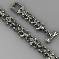 jewel jewelry printable model bracelet bracelet bracelets, formats include STL, ready for animation and other projects Jewelry Show, Jewelry Model, Modern Jewelry, Vintage Jewelry, Fine Jewelry, Jewelry Design, Bracelets For Men, Silver Bracelets, Silver Jewelry