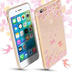 For Apple iPhone 6s 7 7 plus TPU phone case Water/Dirt/Shock Proof phone cover silk pattern phone housing coque for iphone 6 5s