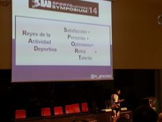 RadSport Business Symposium-María Graciani y su motivulario 2