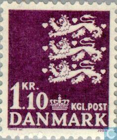 Denmark - Coat of Arms 1965