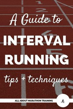 Want to run faster? Run intervals! Here is your guide to interval running. Why you should be running intervals, tips on running them, and different interval workout to try. Interval Training Running, Running Workout Plan, Speed Workout, Running Drills, Running On Treadmill, Speed Training, Track Workout, Running Tips, Race Training