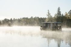 One of the coolest ways to experience our cottage country - by boat! Leisure Island, Temagami, Ontario