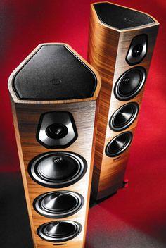 High End Speakers, Best Speakers, Built In Speakers, Audiophile Speakers, Hifi Audio, Stereo Speakers, Speaker System, Audio System, Audio Room