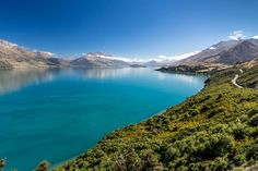 Paradise Road, Bluff Point, New Zealand (Between Queenstown and Glenorchy)