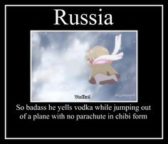 I don't think you can get any more badass than that! :D Hetalia Motivational - Russia by iceblade56