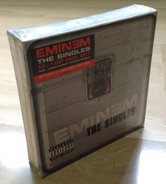 Eminem The Singles Strictly Limited Edition 10 1 Cd Box