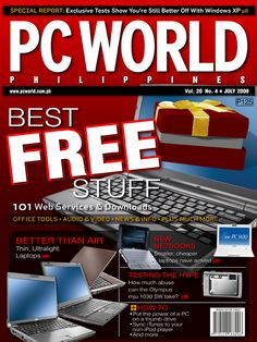 PCWorld Philippines July 2008 cover