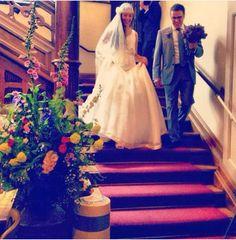 Wedding Jamie Dornan and Amelia Warner