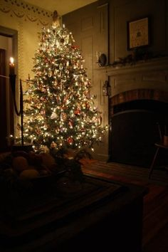 The peace and spirit of Christmas - calm, warm, and beautiful.