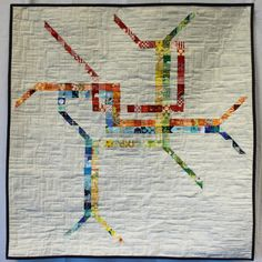 Washington, DC Metro Map Quilt Pattern, PDF Downloadable