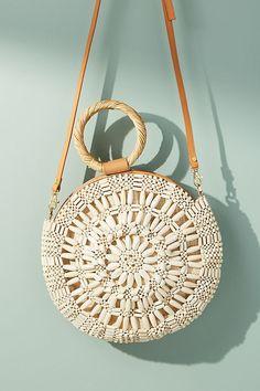 Aranaz Sunburst Round Bag
