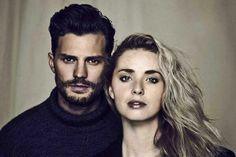 Jamie Dornan and Freya Mavor for ES Magazine