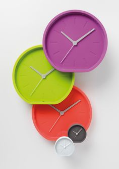 LEXON - Beside & Side Clock (LR122/123), design by Ludovic Roth & Alexandre Dubreuil