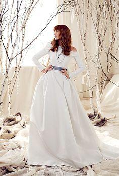 Winter Bridal Gown by Carolina Herrera