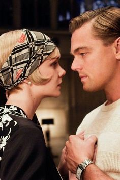 Leonardo DiCaprio in The Great Gatsby, a beautiful film and a truly remarkable novel by F. Scott Fitzgerald. - Ronni