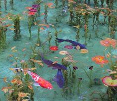 """Giappone:""""lo stagno di Monet"""""""