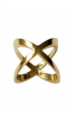 Shop Interlock midi Ring by TOM TOM Jewelry on http://www.mybeautifuldressing.com/en/4070-interlock.html