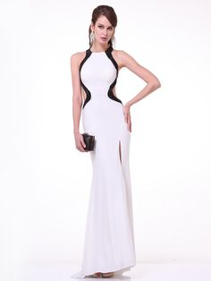 High Neck Prom Dress with Open Back | Sung Boutique L.A.