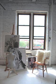 APORTA MILL/STUDIO/WORKSPACE Chicago, IL