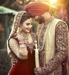 Indian Wedding Couple Photography, Wedding Couple Photos, Wedding Photography Poses, Wedding Poses, Wedding Couples, Wedding Portraits, Wedding Bride, Wedding Shoot, Wedding Wear