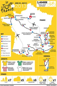 After several years of including overseas stages, the 2013 race route takes place entirely on French roads (© Press Association)