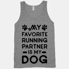 My Favorite Running Partner Is My Dog