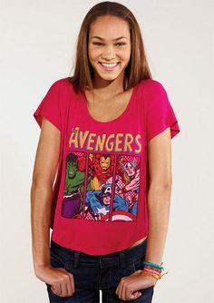 Avengers Tee - TV & Movies - Graphic Tees - dELiA*s