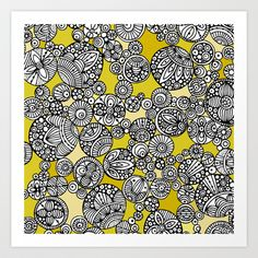 Circles+Art+Print+by+Valentina+-+$18.00