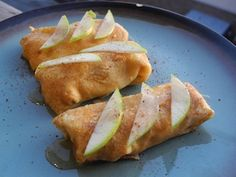 Blintzes have had a long and happy relationship with Shavuot. As I mentioned yesterday, Shavuot and cheese go together like . Apple Dessert Recipes, Just Desserts, Kosher Recipes, Jewish Recipes, Good Enough To Eat, I Love Food, Great Recipes, Brunch, Cooking