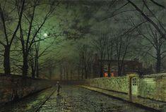 Silver Moonlight, 1880