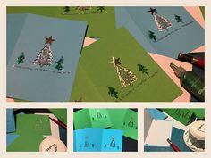 Fröhliche Weihnachten December, Christmas Cards, Dekoration
