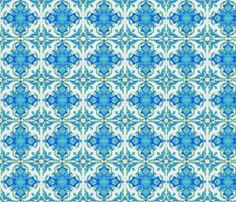 Moroccan Stained Glass  fabric by valhaala on Spoonflower - custom fabric