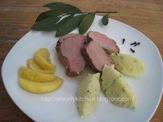 Ale only kitchen: Filetto di maiale con mele e salsa al Calvados