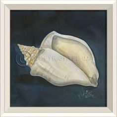 WC Seashell No. 4 from Kolene Spicher Art - love these pieces from Spicher Art!